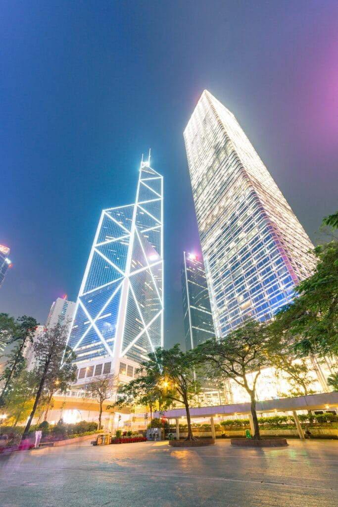 Top Places to see the Hong Kong Skyline