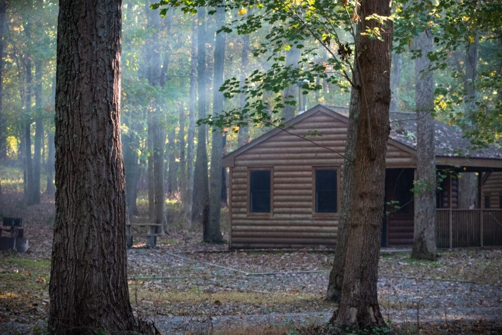 cabin state parks in texas
