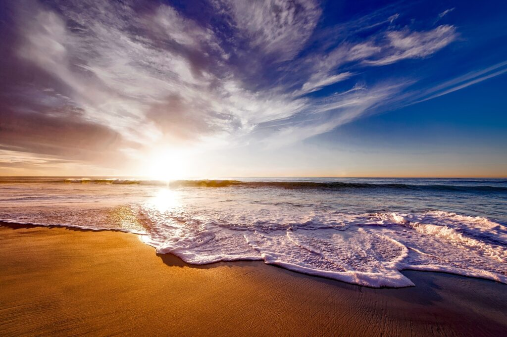 Discover many beautiful beaches