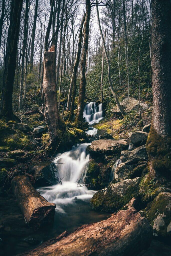 Secret Waterfalls in Tennessee
