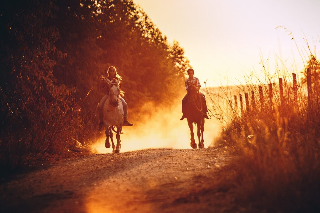 See the Valley on Horseback